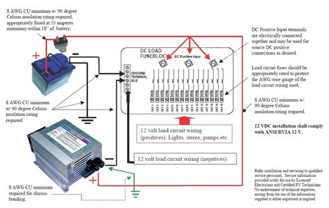 rv power converter wiring diagram airstream converters and more