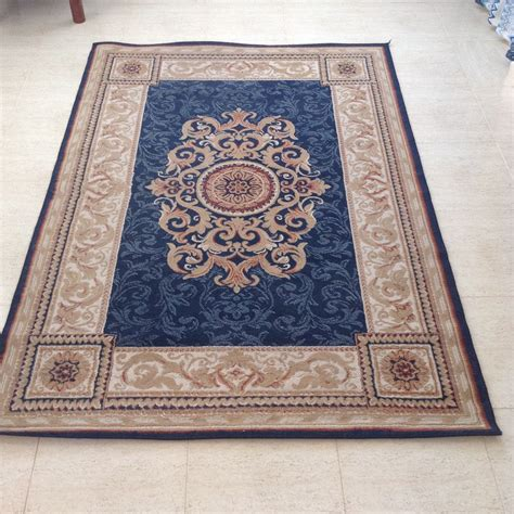 blue patterned rugs sold 2 large blue patterned floor rugs 1 small blue patterened floor rug buy and sell