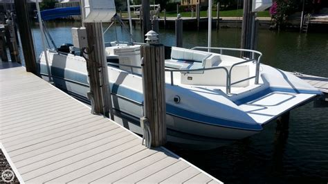 deck boats for sale marco island 1992 bayliner 2609 rendezvous photo 2