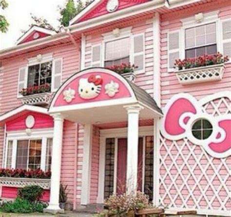 hello kitty houses pink hello kitty house think pink pinterest