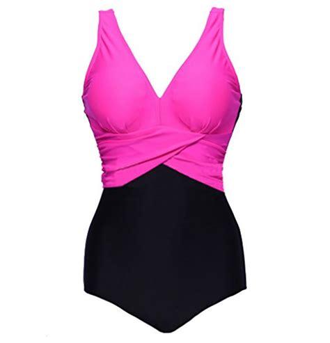 Abary V Neck Plus Size Bathing Suit ****** Swimwear