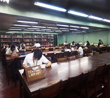 filipiniana section in the library definition sections miguel de benavides library