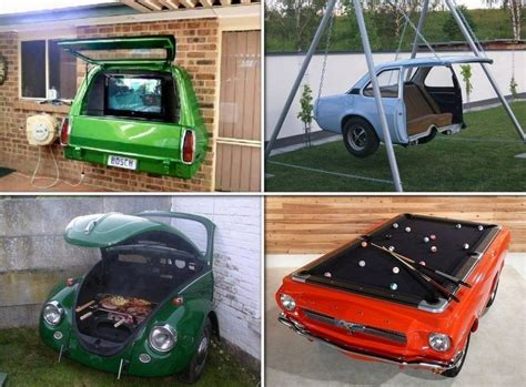 repurposed car parts home decor daily