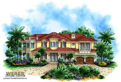 breeze house plans island breeze home plan weber design group naples fl