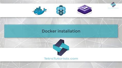 docker tutorial install docker tutorial for beginners how to install docker