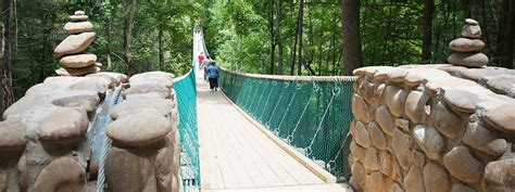 swinging bridge pigeon forge discover foxfire swinging bridge adventure sevierville tn