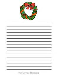 Free Christmas Writing Paper Search Results For Santa Writing Paper For Primary