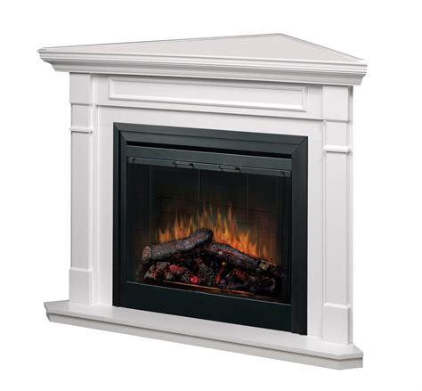 White Electric Corner Fireplace by Mantle Packages Friendly Firesfriendly Fires
