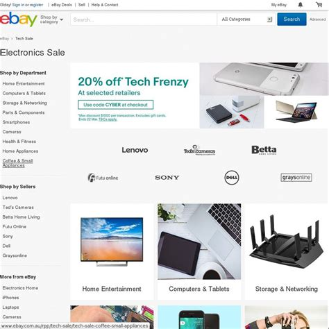 ebay ozbargain 20 off selected tech stores at ebay page 3 ozbargain