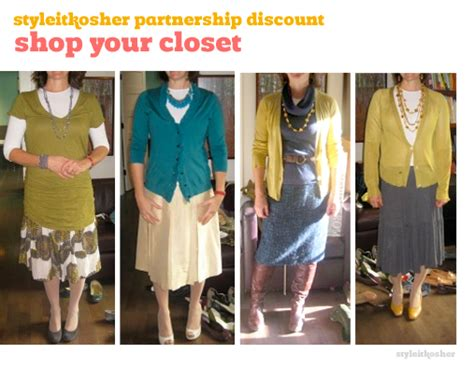 How To Shop Your Closet by 187 Shop Your Closet Style It Kosher