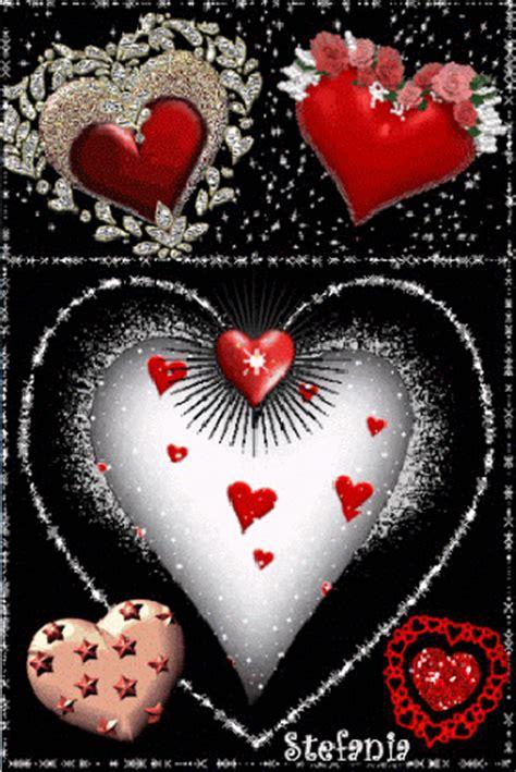 imagenes animadas de amor para ti imagenes gif de lindos corazones de amor