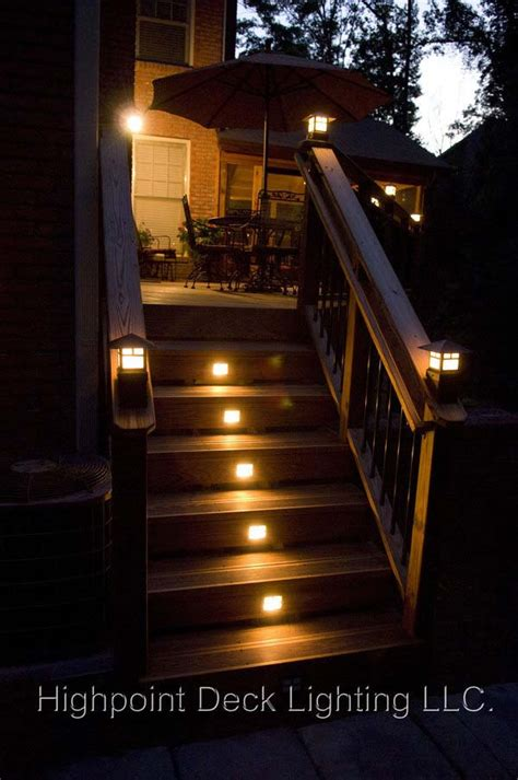 deck step lights 30 astonishing step lighting ideas for outdoor space