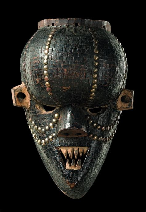 african masks africa mask quot mukinka quot from the salasu people of dr