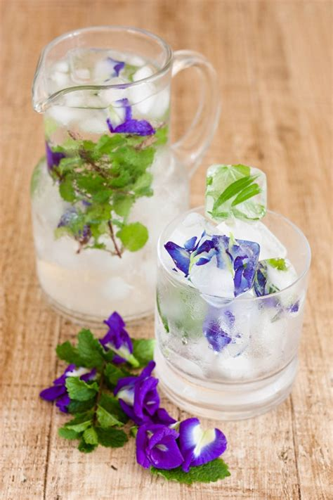 craft ideas for kitchen diy flower ice cubes kitchen craft ideas diy ready