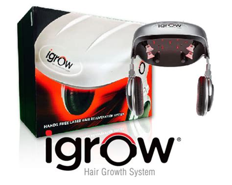 igrow hands free laser led light therapy hair regrowth system igrow laser hair rejuvenation system om hair
