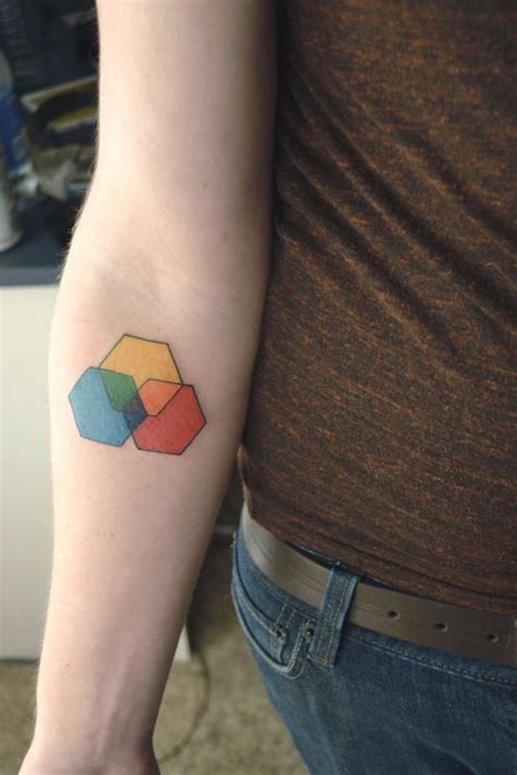 sentimental tattoos 1000 ideas about hexagon on geometric