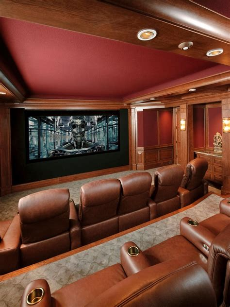 high  home theater designs hgtv