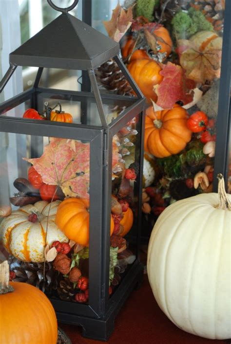 fall indoor decorations 59 fall lanterns for outdoor and indoor d 233 cor digsdigs