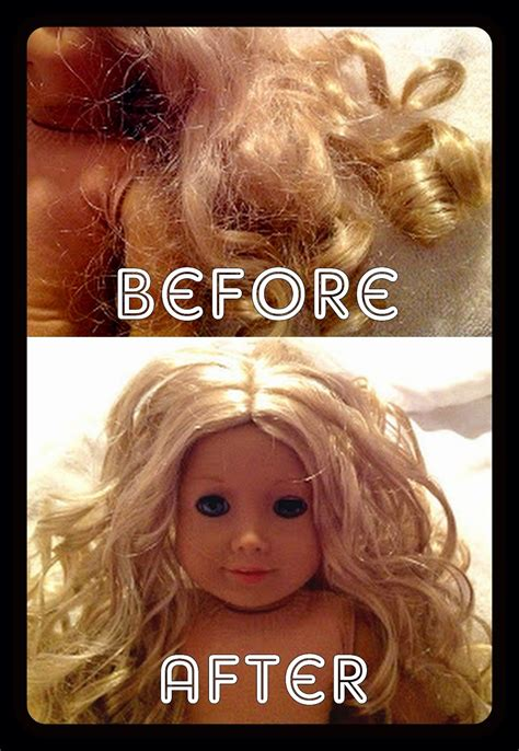 doll hair fix american doll hair without a trip to the doll