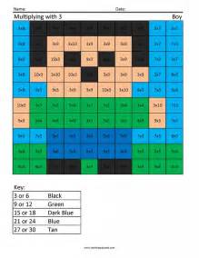 jm3 boy 2 free multiplication times table practice coloring squared