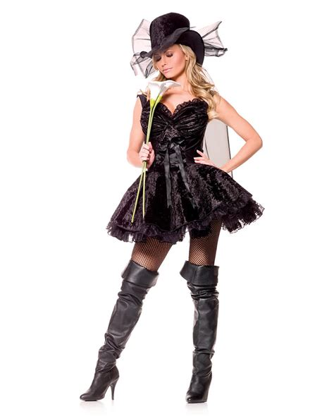 Dress Premium Ml 1 Widow Premium Costume L Costume Widow