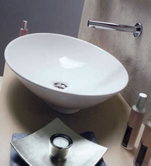 Scarabeo Neck Bathroom Basins