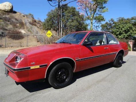 how make cars 1986 buick skyhawk interior lighting 1984 buick skyhawk custom coupe in el cajon ca 1 owner car guy