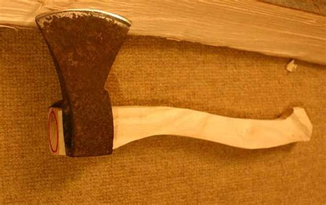 how to make a tomahawk handle axe handle