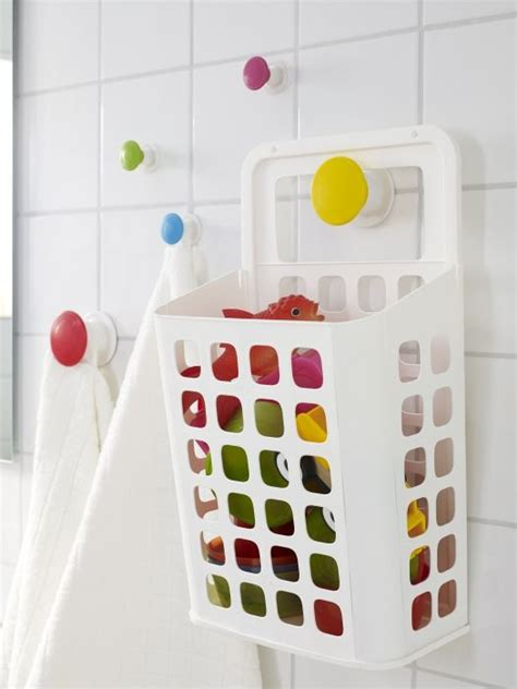 bathroom toy storage ideas variera trash can white kids bath toys and bath