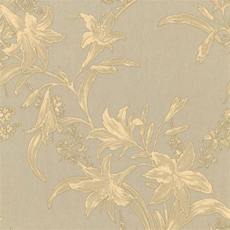 wallpaper gold and beige metallic gold and beige floral wallpaper transitional
