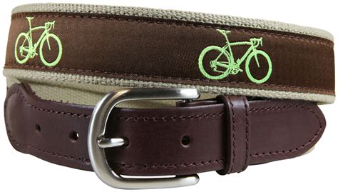 road bike leathers road bike brown leather tab belt belted cow company