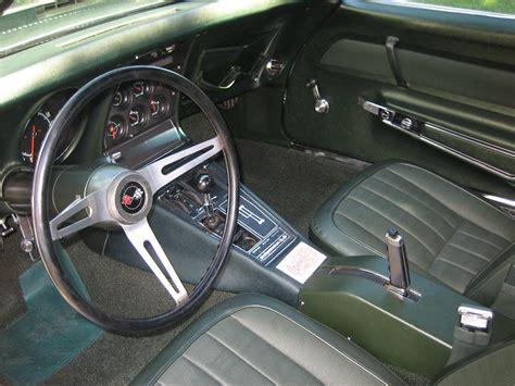 1969 corvette interior 1969 chevrolet corvette l88 coupe 44281