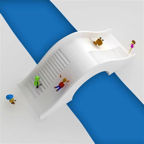 designboom about slides bridge designboom com
