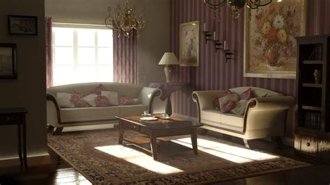 classic living room classic living room render by kaikun2236 on deviantart