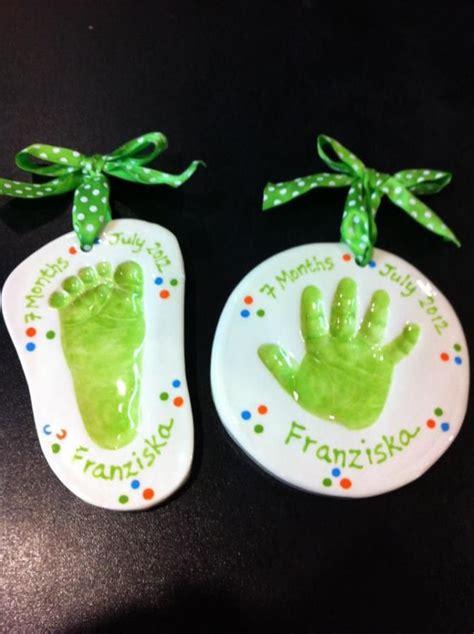 ideas  hand print ornament  pinterest