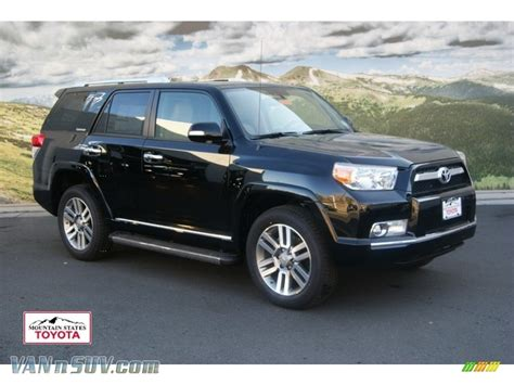 2012 Toyota 4runner Limited 2012 Toyota 4runner Limited 4x4 In Black 077666