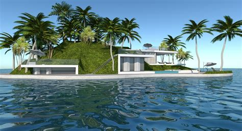 Island Houses by Green Light For Dubai S Floating Islands