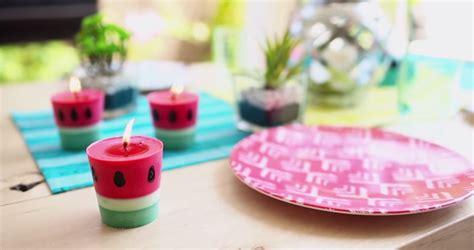 candele profumate fai da te candele estate fai da te diy