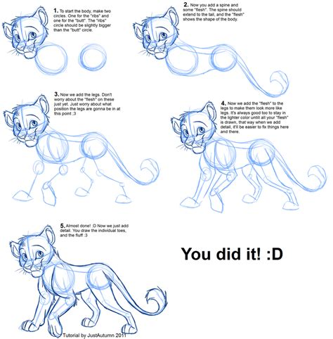 how to draw on you doodle drawing simba