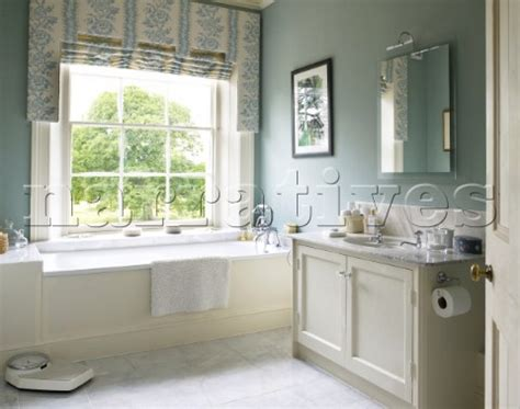 country house bathroom dp018 15 pastel blue bathroom in lincolnshire country narratives photo agency