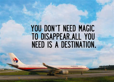 You Can T Disappear From Me 1 4 Tamat travel quotes quotesgram