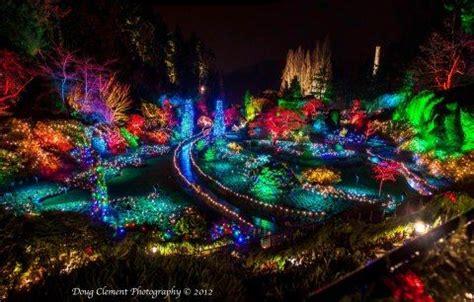 butchart gardens christmas lights victoria b c