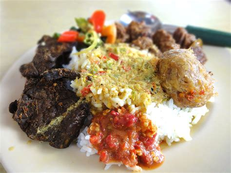 Lunch Box Kertas Nasi Padang Non Sekat the angsana tree watz for lunch non