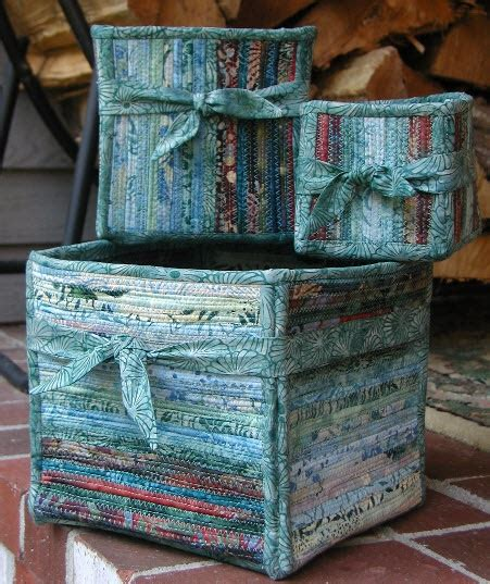 pattern fabric boxes 163 best images about clothesline projects on pinterest