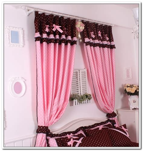 bedroom window curtains bedroom curtain pink www imgkid com the image kid has it