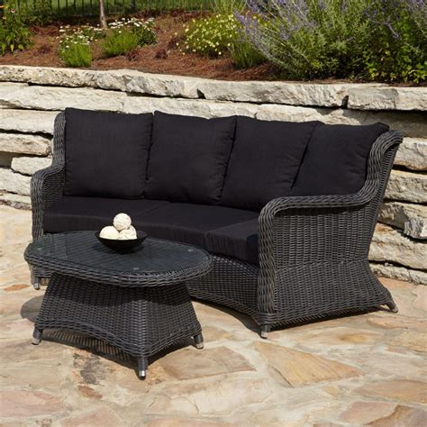 Gray Wicker Resin Patio Furniture Outdoor Interiors Resin Wicker Seating Patio Furniture