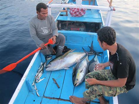 Pancing Tuna cinta laut indonesia tangkap ikan tuna di malam hari