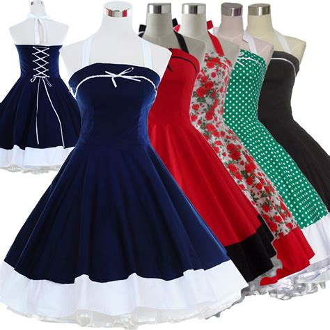 swing jive dresses vintage retro dancing party swing jive rockabilly polka