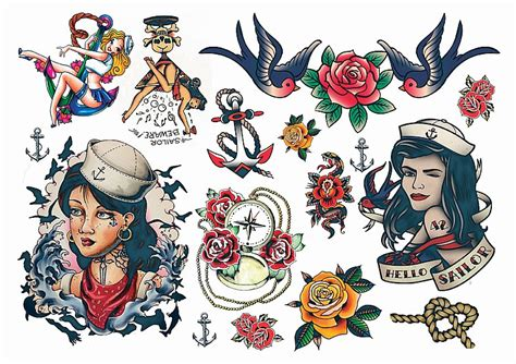 vintage pin up tattoo designs temporary tattoos australia winehouse temporary