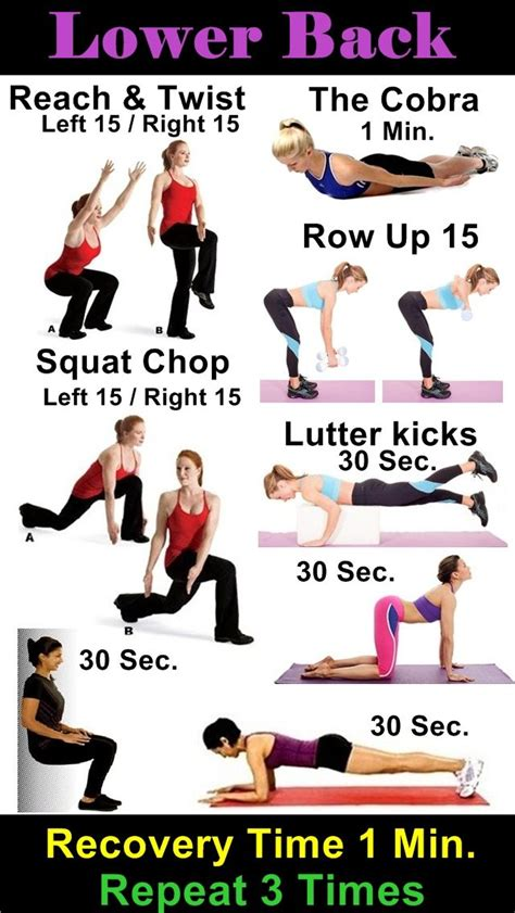 lower back workout projectthickfit